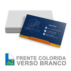 Cartão verniz localizado - 1.000 unidades - 300g - frente