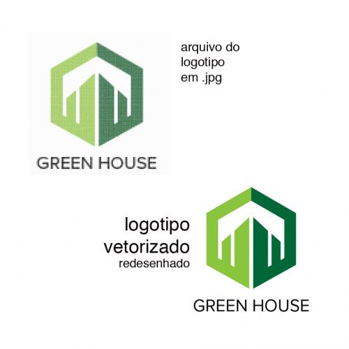 Arte - Vetorização de Logo