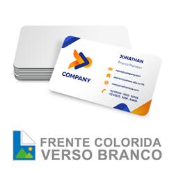 Cartão PVC - frente