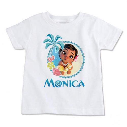 Camisa Branca Infantil Dia dos Pais