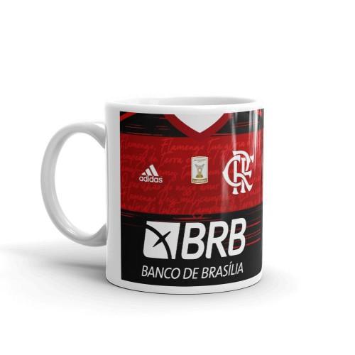 Caneca do Flamengo Personalize Número e Nome